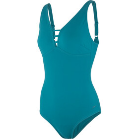 speedo Opalgleam Swimsuit Damen blue
